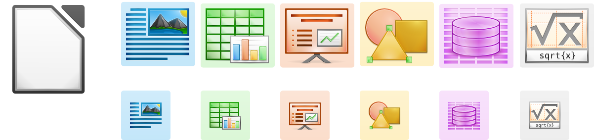 2011-11-18 LibreOffice ApplicationIcons WebUse Example.png