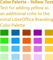 File:2010-10-21 LibreOffice Branding Idea ColorTest Yellow.png