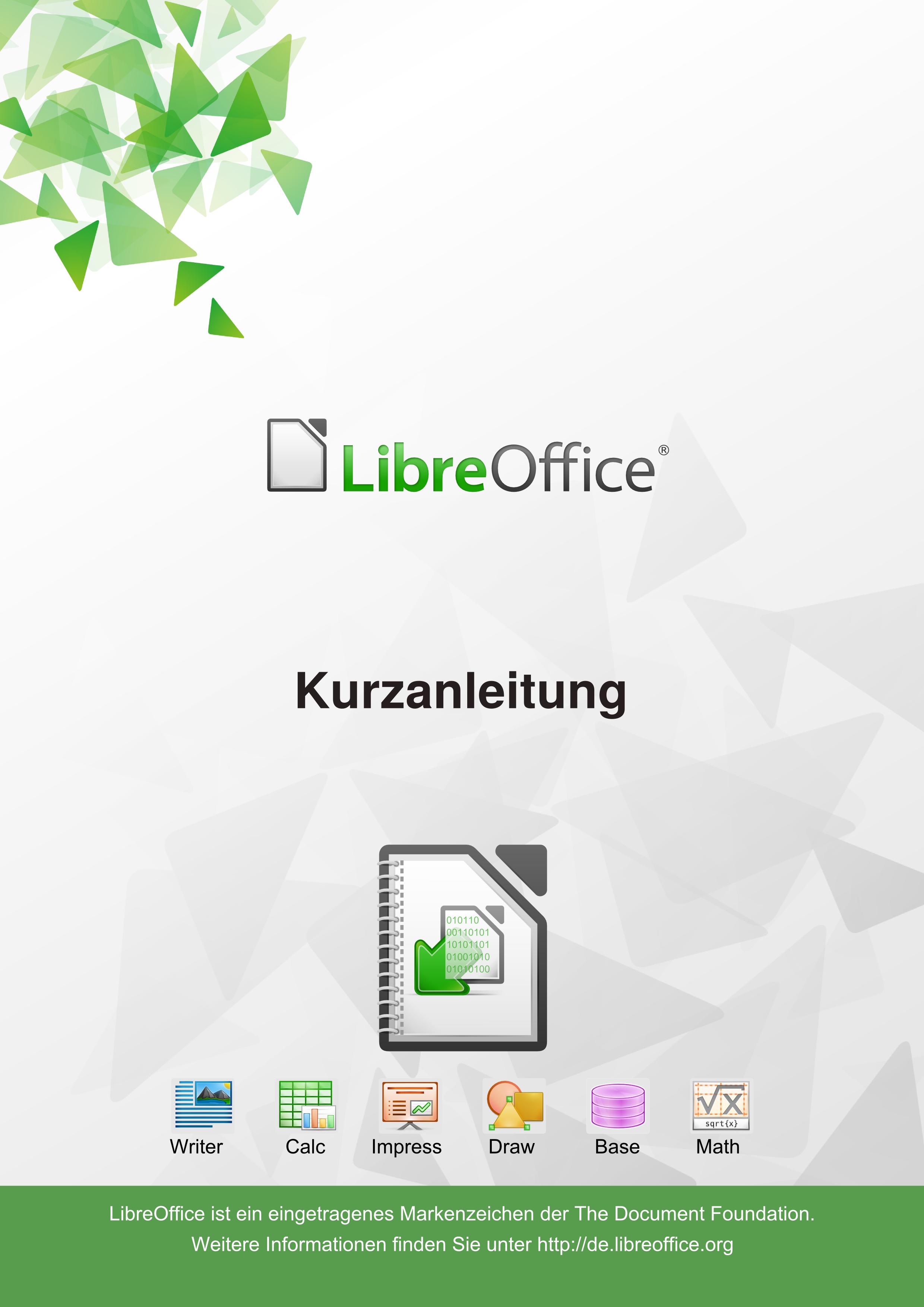 Handbuch Erstellung The Document Foundation Wiki