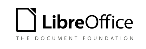 File:LibreOffice LogoImprovements2016 Ideation LogoSublineMonochrome.png