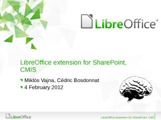 LibreOffice extension for Sharepoint