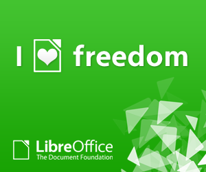 LibreOffice banner  300x250px