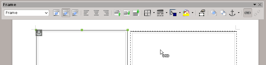 screenshot of cursor frame