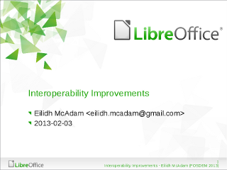 Interoperability Improvements