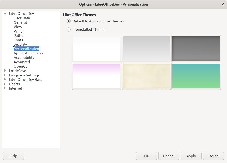 Libreoffice transparenter hintergrund