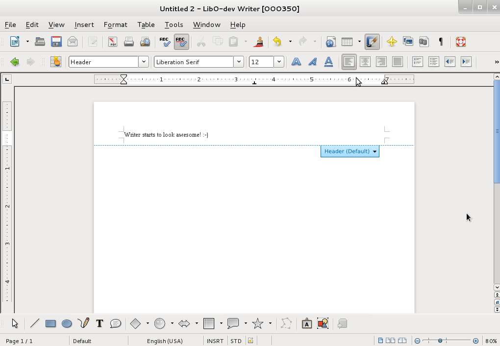Libreoffice 3 5 est disponible for Table design libreoffice