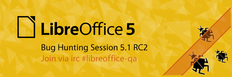 File:LibreOffice LogoImprovements2016 Ideation Banner BugHunting.png