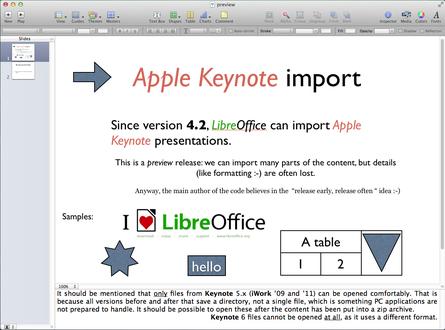 libre office per mac