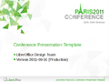 LibreOffice Conference 2011 PresentationTemplateExample.png