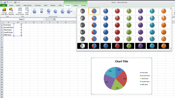 Chart styles the document foundation wiki excel 2010 chart styles ccuart Image collections