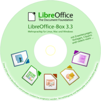dvd box label LibreOffice-Box DE