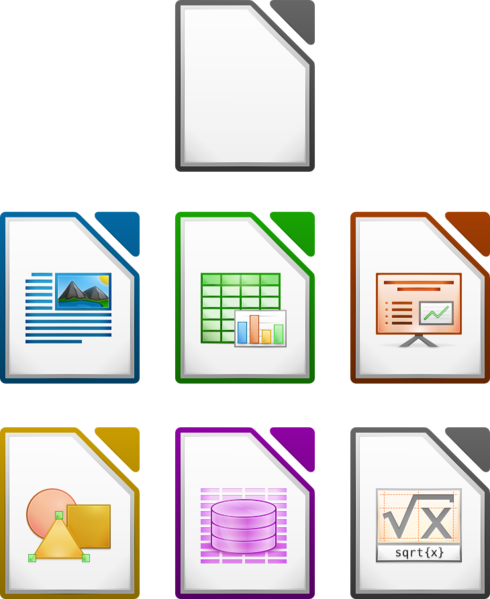 File:LibreOffice icons 256.png