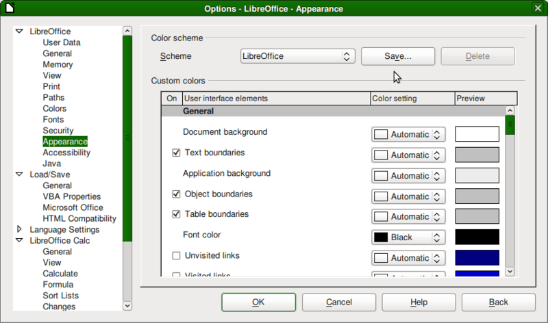 File:Screenshot-Options - LibreOffice - Appearance.png
