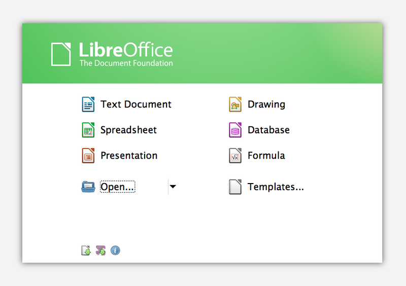 File:LibreOffice 3.6.0 Start Center.png