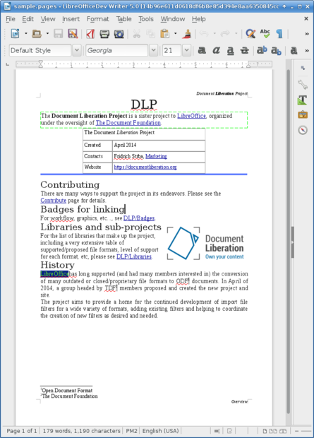 Cover Letter Template Libreoffice. Mla Format Sample Paper Cover