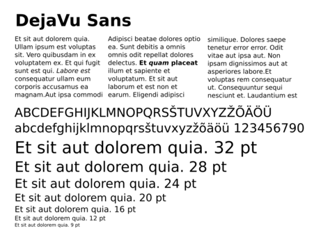 Fonts - The Document Foundation Wiki