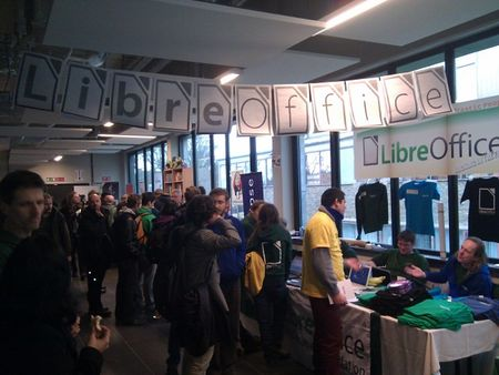 The Fosdem Booth